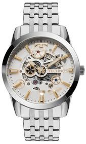Relógio Technos Masculino Automático 8205nr/1k Esqueleto