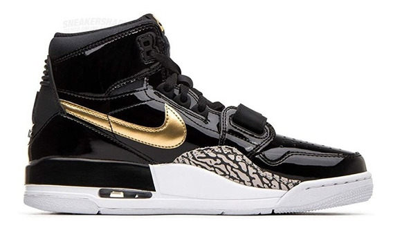 Jordan Legacy 312 Black Gold Envio Inmediato