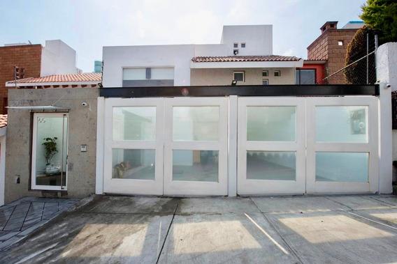 Amplia Casa Remodelada En Interlomas Con Salon Privado