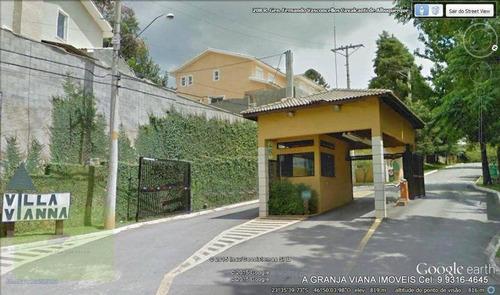 Terreno À Venda, 1030 M² Por R$ 650.000,00 - Granja Viana - Cotia/sp - Te0278