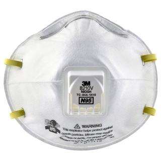 Mascarilla Para Partículas, Protección Respiratoria N95, 80