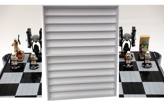 Expositor Prateleira Estante Figuras Lego Star Wars Xadrez
