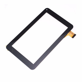 Tela Touch Tablet Cce Tr72 / Dl / M7s Preto Sem Aro´usado`