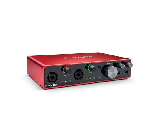 Interface De Áudio Usb Focusrite Scarlett 8i6