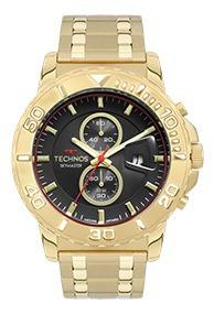 Relógio Technos Skymaster Masculino Dourado Os11ed/4p - Nfe