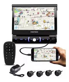 Dvd Retrátil Usb Bluetooth, Câmera E Sensor Ré Espelhamento
