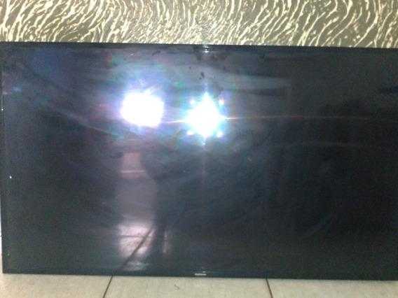 Smart Tv Samsung 49 Polegadas Un49j5200ag Tela Quebrada