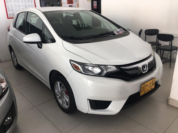 Honda Fit Lx 2015 Blanco Aut