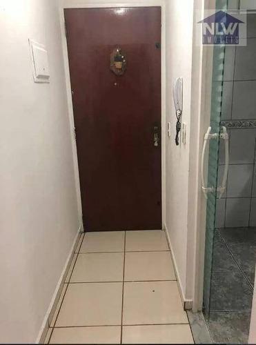 Apartamento Com 2 Dormitórios À Venda, 54 M² Por R$ 201.400,00 - Jardim Nove De Julho - São Paulo/sp - Ap1341