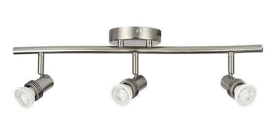 Lampara Dirigible 150w Satinado Socket Gu10 Lvr-303/s