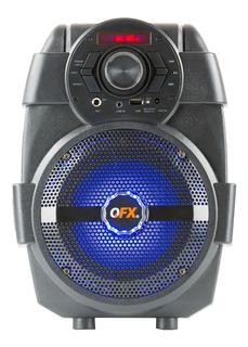 Parlante Portátil Karaoke Potente! Bluetooth - Sd - Radio Fm - Luces Led! Bateria Recargable!