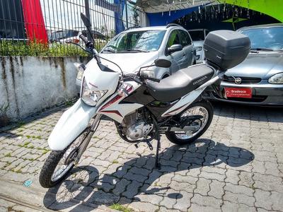 Moto Nxr Bros 150 Mix Branca 2014
