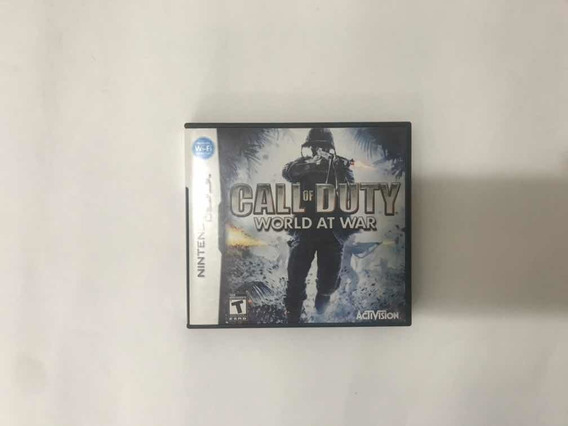 Call Of Duty World At War Para Nintendo Ds