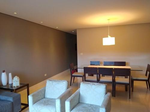 Belíssimo Apartamento Com 3 Dormitórios 1 Suíte 2 Vagas,com 118 M² - Ap0258