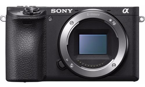 Câmera Sony Alpha A6500 - Corpo Com Nfe 2 Anos De Garantia