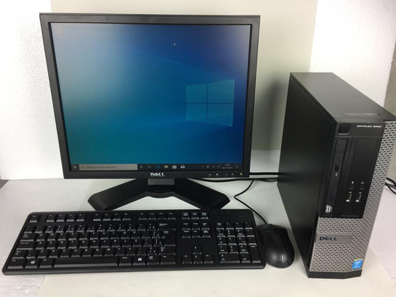 Cpu Desktop Dell Optiplex 3020 I3 + Monitor + Teclado + Nf