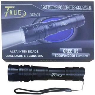 Lanterna Tática Led Cree Q5 15000w/42000 Lúmens Td-78