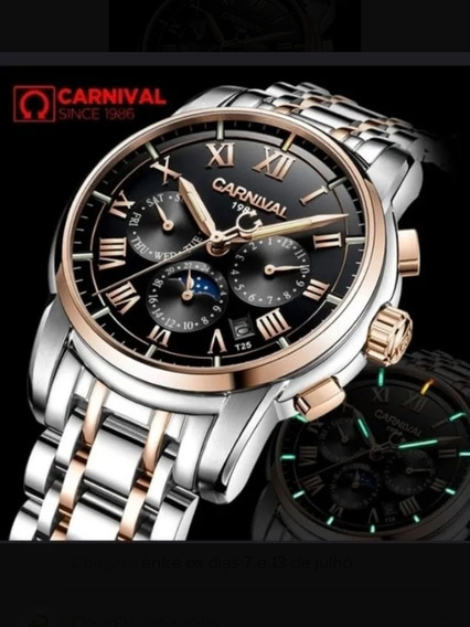 Relógio Automático Carnival Modelo T25
