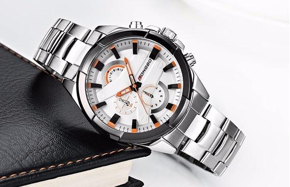 Relógio Masculino Da Marca Longbo Excelente Qualidade.