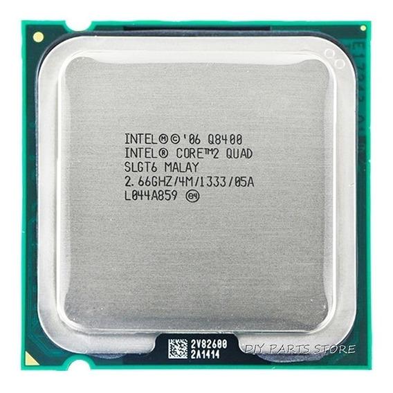 Processador Core 2 Quad Q8400 Intel 2.66ghz + Pasta Térmica