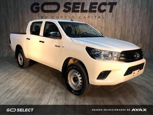Toyota Hilux Dx 4x2 Diesel 2019 Blanco Excelente Estado