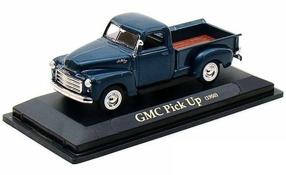 Yat94255-a Gmc Pickup 1950 Azul 1:43