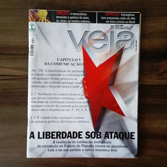Revista Veja 2184/ 2010 - A Liberdade Sob Ataque