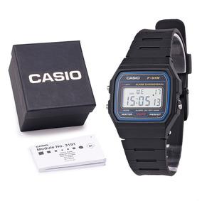 Relógio Masculino Casio F-91w Á Prova D