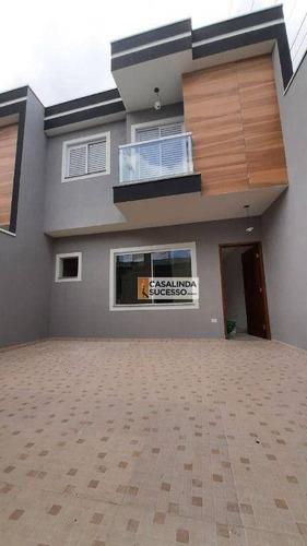 Imagem 1 de 14 de Sobrado Com 3 Dormitórios À Venda, 79 M² Por R$ 410.000,00 - Ponte Rasa - São Paulo/sp - So1246