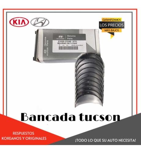 Juego Concha Bancada Standar/0.10/0.20 Tucson/ Kia Sportage