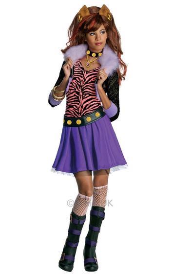 Disfraz Monster High Para Niñas Halloween