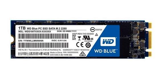 Hd Ssd M.2 1tb Western Digital Blue Wds100t1b0b M2