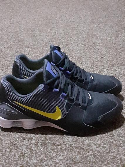 Nike Shox 44 Usado Preto