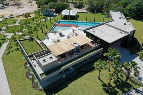 Imagem 1 de 30 de Lote À Venda, 290 M², Jardins Terra Brasilis, Condomínio Fechado, Financia- Centro  Aquiraz/ce - Te0341