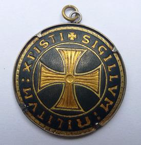 Colar Medieval Templário / Ouro 24 Kts / Toledo/ Espanha