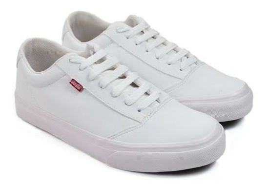 Tenis Masc Cc1678 Ground Branco Coca-cola 89362