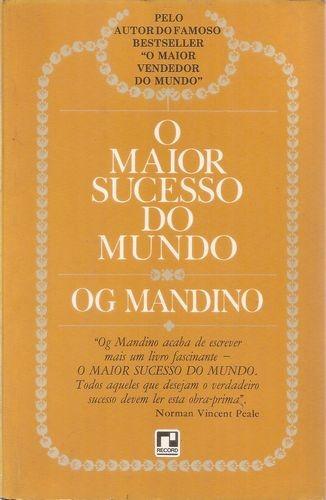 Livro Maior Sucesso Do Mundo, O Mandino, Og
