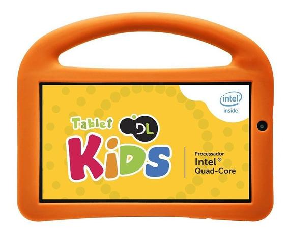 Tablet Dl Kids 8gb 1gb De Ram 7 Wifi Tx330bra