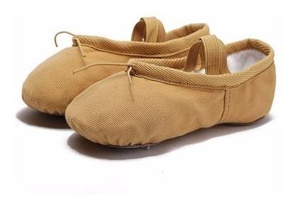 2 Zapatillas De Media Punta Para Ballet Nude