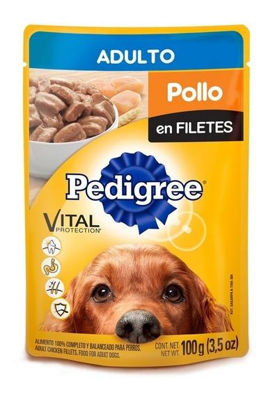 Alimento Para Perro Pedigree Adulto Con 12 Piezas De 150 Grs
