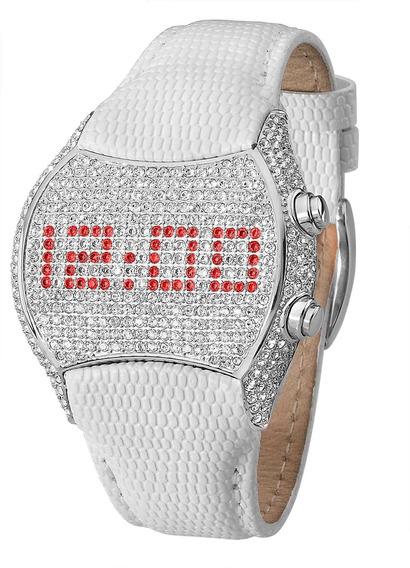 Relógio Ana Hickmann Pedra De Zircônia Digital