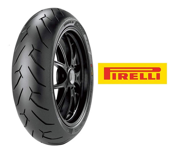 Pneu Traseiro Pirelli Diablo Rosso 2 140/70-17 Cb 300/fazer 250/twister