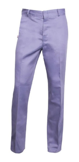 Pantalon De Trabajo Tipo Ombu Beige- Azulino Local Centro