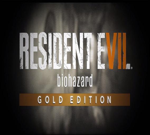 Resident Evil 7 Pc Original Key Gold Edition Steam