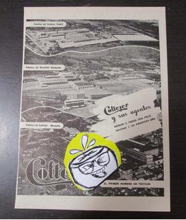 Coltejer Medellin Envigado Itagui Publicidad Antigua 1952 L1