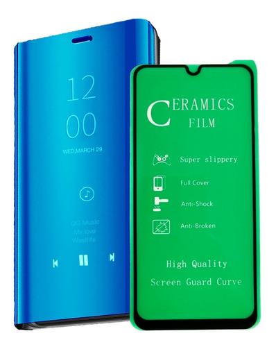Flip Cover + Vidrio Templado 3d Huawei P30 Pro