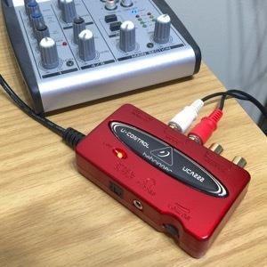 Interface De Áudio Beringuer Uca 222