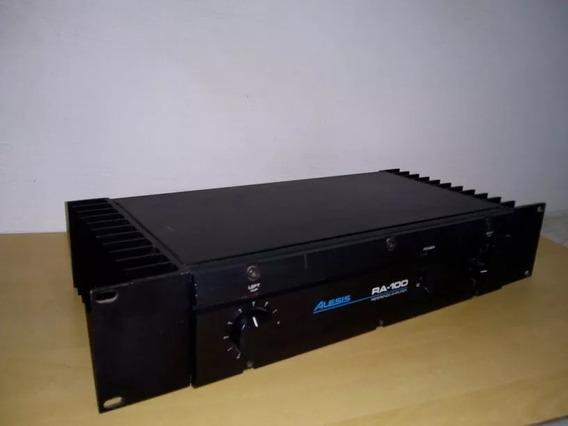 Potência Alesis Ra 100 Watts, Pré-amplificador De Energia