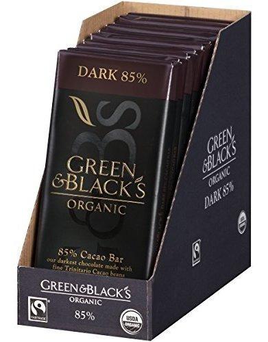 Chocolate Oscuro Orgánico De Green & Black, 85% De Cacao,   Mercado Libre