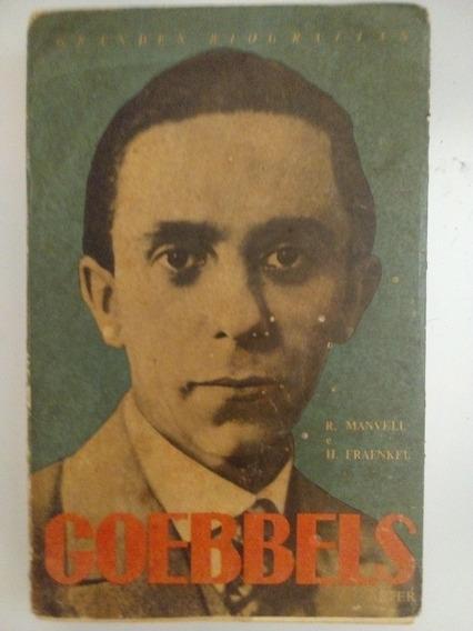Livro Antigo Goebbels Alemanha Segunda Guerra Frete Grátis